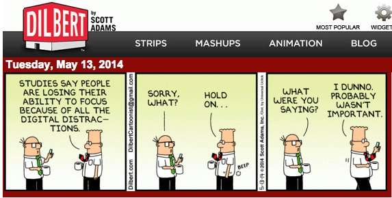 Dilbert-Distractions